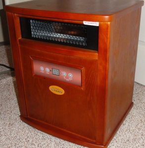 Infrared heater foe appartment